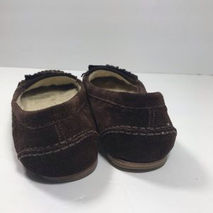 Marc By Marc Jacobs Shoes - Marc Jacobs brown fuzzy slip on loafers moccasins